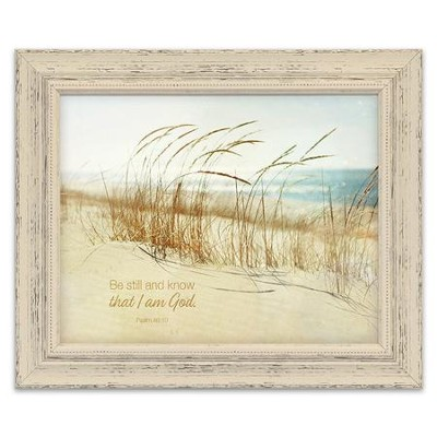 Be Still And Know That I Am God Framed Art Christianbookcom