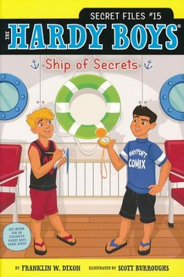 Ship of Secrets  -     By: Franklin W. Dixon     Illustrated By: Scott Burroughs