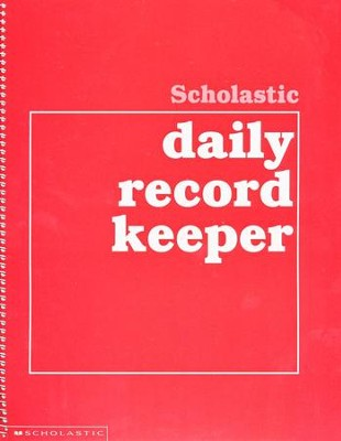 Scholastic Daily Record Keeper   -