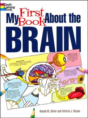my first book about the brain coloring book by patricia j wynne - Brain Coloring Book