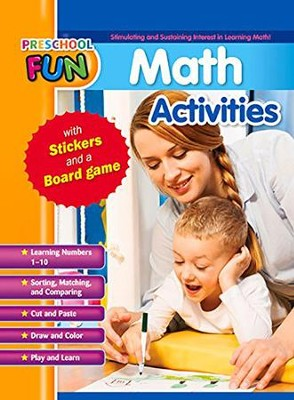 Preschool Fun - Math Activities  -
