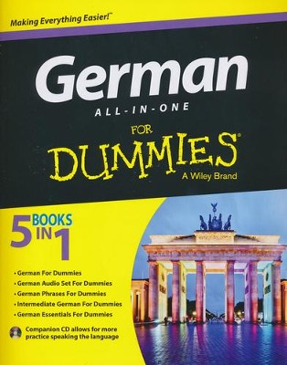 German All-in-One For Dummies, with CD  -