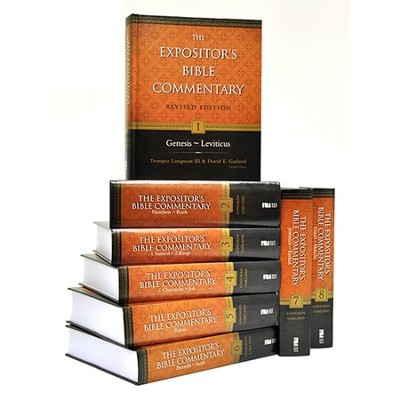 Old Testament Set, 8 Volumes: The Expositor's Bible Commentary, Revised  -