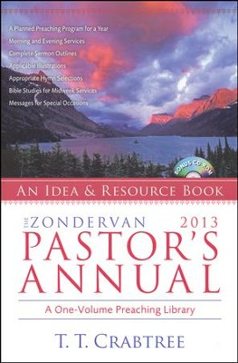 The Zondervan 2013 Pastor's Annual: An Idea and Resource Book  -     By: T.T. Crabtree