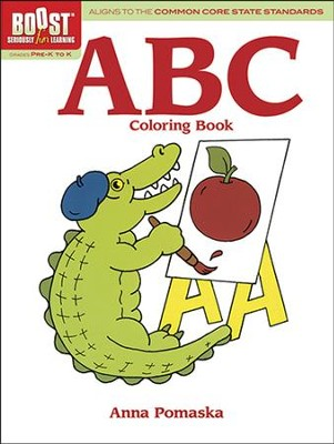 ABC Coloring Book  -     By: Anna Pomaska