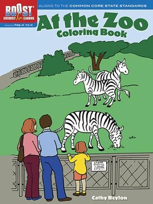 At the Zoo Coloring Book  -     By: Cathy Beylon