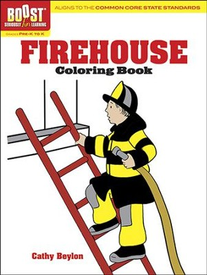 Firehouse Coloring Book  -     By: Cathy Beylon