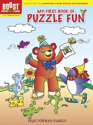 My First Book of Puzzle Fun  -     By: Fran Newman-D'Amico