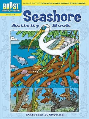 Seashore Activity Book  -     By: Patricia J. Wynne
