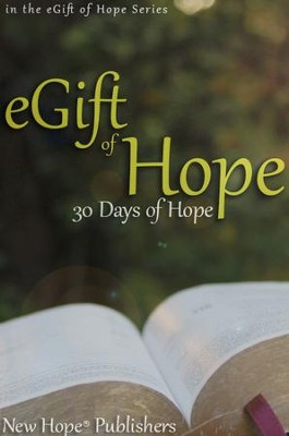 eGift of Hope: 30 Days of Hope - eBook  -     By: New Hope Publishers