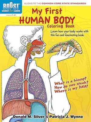 My First Human Body Coloring Book  -     By: Patricia J. Wynne, Donald M. Silver