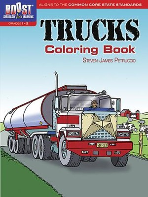 Trucks Coloring Book  -     By: Steven James Petruccio