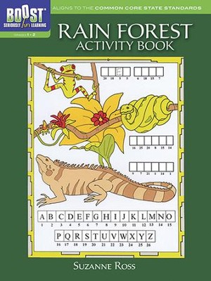Rain Forest Activity Book  -     By: Suzanne Ross