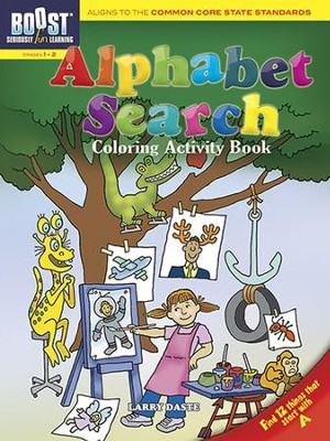 Alphabet Search Coloring Activity Book  -     By: Larry Daste