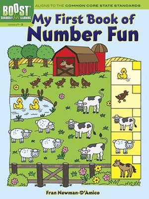 My First Book of Number Fun  -     By: Fran Newman-D'Amico