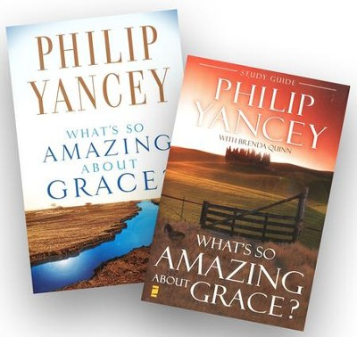 What's So Amazing About Grace, Book and Study Guide   -     By: Philip Yancey