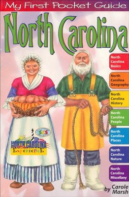 North Carolina Pocket Guide, Grades 3-8  -     By: Carole Marsh