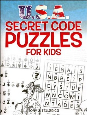 U.S.A. Secret Code Puzzles for Kids  -     By: Tony J. Tallarico