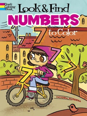 Look & Find Numbers to Color  -     By: Victoria Maderna