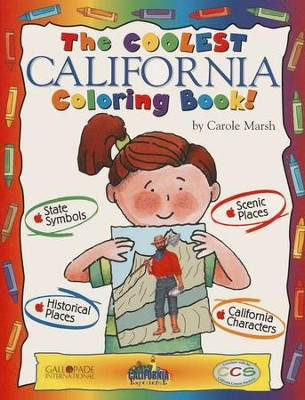 California Coloring Book, Grades PreK-3  -     By: Carole Marsh