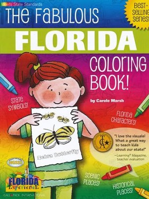 Florida Coloring Book, Grades PreK-3  -     By: Carole Marsh