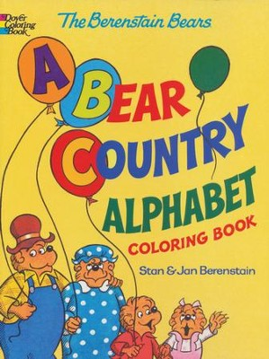 Berenstain Bears A Bear Country Alphabet Coloring Book  -     By: Stan Berenstain, Jan Berenstain