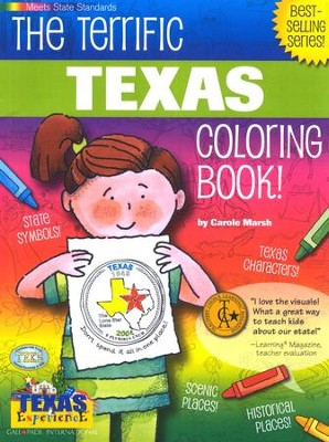 Texas Coloring Book, Grades PreK-3  -     By: Carole Marsh