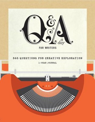Q&A a Day for Writers: 1-Year Journal  -
