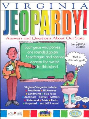 Virginia Jeopardy, Grades K-8  -     By: Carole Marsh