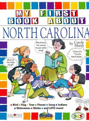 North Carolina My First Book, Grades K-8  -     By: Carole Marsh