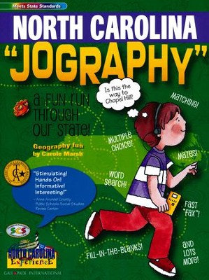 North Carolina Jography, Grades K-8  -     By: Carole Marsh
