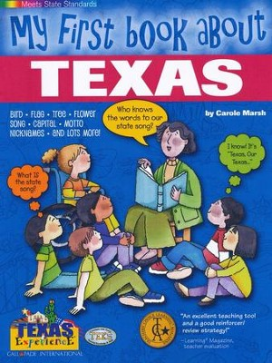 Texas My First Book, Grades K-8  -     By: Carole Marsh