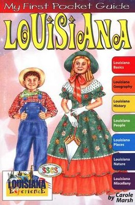 Louisiana Pocket Guide, Grades 3-8  -     By: Carole Marsh
