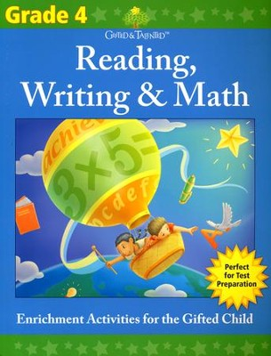 Gifted & Talented: Grade 4 Reading, Writing & Math  -     By: Flash Kids Ed.s