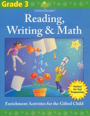 Gifted & Talented: Grade 3 Reading, Writing & Math  -     By: Flash Kids Ed.s