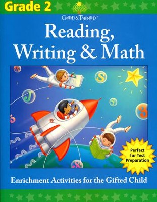 Gifted & Talented: Grade 2 Reading, Writing & Math  -     By: Flash Kids Ed.s
