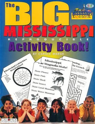 Mississippi Big Activity Book, Grades K-5  -     By: Carole Marsh