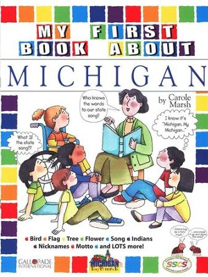 Michigan My First Book, Grades K-5  -     By: Carole Marsh