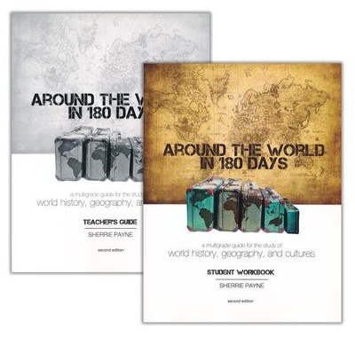 Around the World in 180 Days Set, 2nd Edition   -     By: Sherrie Payne