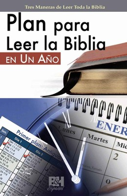 Plan para Leer la Biblia en Un Ano, Folleto (One-Year Bible Reading Plan, Pamphlet)  -
