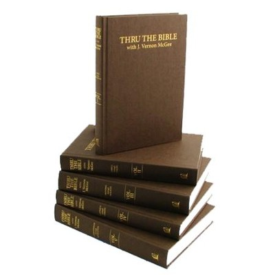 Thru the bible 5 volumes j vernon mcgee 9780840749574 thru the bible 5 volumes by j vernon mcgee fandeluxe Gallery