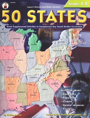 50 States--Grades 3 to 5   -     By: Shirley Pearson