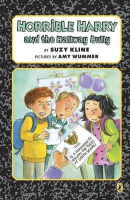 Horrible Harry and the Hallway Bully - eBook  -     By: Suzy Kline     Illustrated By: Amy Wummer