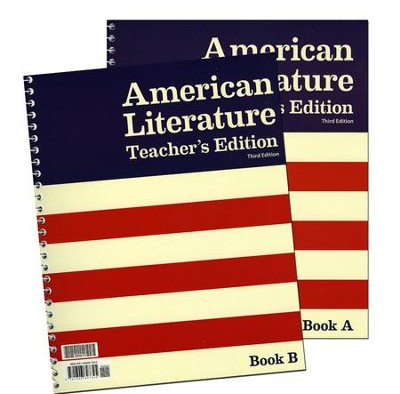 BJU Press American Literature Teacher's Edition Grade 11, 3rd Ed.   -