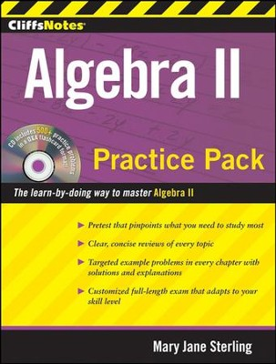 CliffsNotes Algebra II Practice Pack  -     By: Mary Jane Sterling