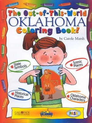 Oklahoma Coloring Book, Grades PreK-3  -     By: Carole Marsh