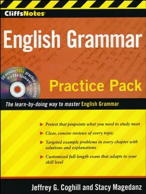 CliffsNotes English Grammar Practice Pack  -     By: Stacy Magedanz, Jeffrey G. Coghill