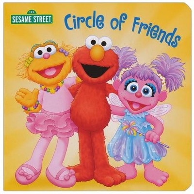 Circle of Friends (Sesame Street) - eBook  -     By: Naomi Kleinberg     Illustrated By: Tom Brannon