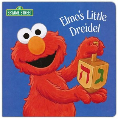 Elmo's Little Dreidel (Sesame Street) - eBook  -     By: Naomi Kleinberg     Illustrated By: Christopher Moroney