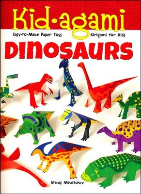 Kid-agami - Dinosaurs: Kiragami for Kids: Easy-to-Make Paper Toys  -     By: Atanas Mihaltchev
